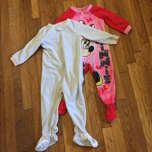 Other - 2 size 3t feety pjs